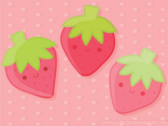 Strawberries by natalia-factory