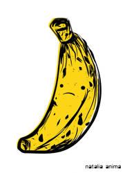 Sad Banana by natalia-factory