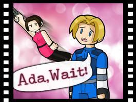 Ada, Wait! [Original] by DoubleLeggy