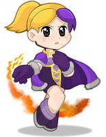 Kawaii Wizard-Chan by DoubleLeggy