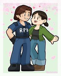 Kevin + Yoko by DoubleLeggy