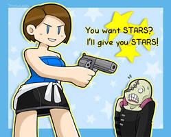 Jill's a STAR by DoubleLeggy