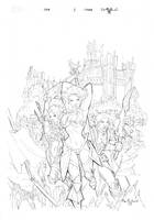 one cover pencil by qualano