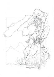 Red Sonja comission by qualano