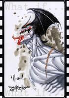 Devilman sketch by qualano