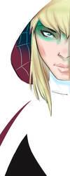 Spider Gwen Sketch by qualano
