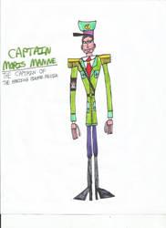 Captain Moris Manne (Raya100) by zacharyknox222