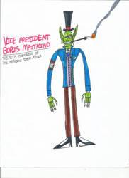Vice President Boris Mattkind (Raya100) by zacharyknox222