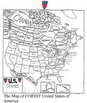 The Map of CORIOT United States of America by zacharyknox222