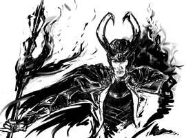 King of Asgard by Cropivva