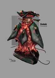 Dalek Time Beast by Mejiro-kun