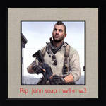 rip john soap mactavish by kari5