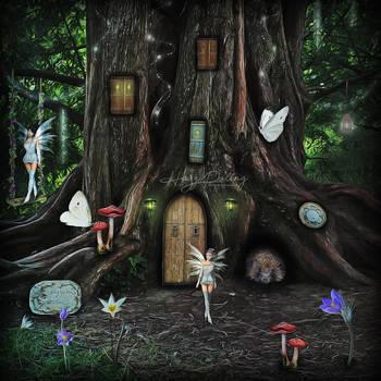 Fairy Tree by HayzPaling