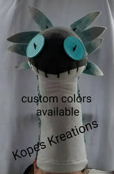 Monster Hunter World Wiggler Head by kopeskreations