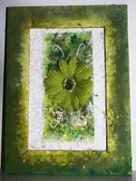 Green flower by LillemorGull