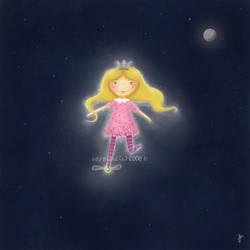 Prinsessen Paa Erten v2 by LillemorGull