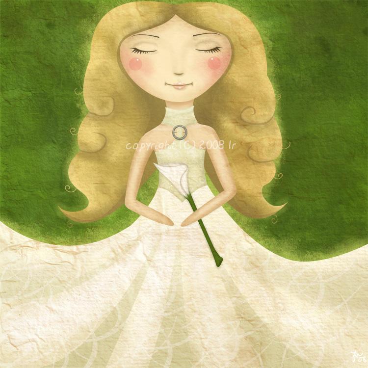 Hvit som liljen by LillemorGull