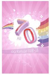 Birthday Card by LillemorGull