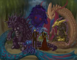 Vor's Pokemon Team by Vor-Wrath