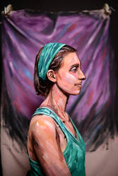 Portrait of Nicole by Vor-Wrath