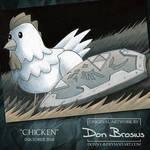 Inktober 2018 - Chicken by Donny-B