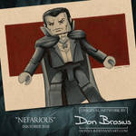 Inktober 2018 - Nefarious by Donny-B