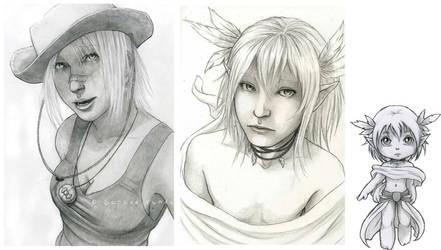 Gaia Commission: Batch by SerenaVerdeArt