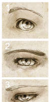 Looks. Eyes. Recognize. by SerenaVerdeArt