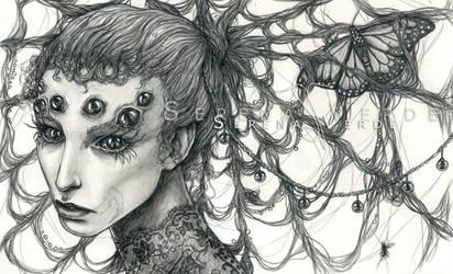 Araneae by SerenaVerdeArt