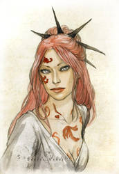 Lady Odessa by SerenaVerdeArt