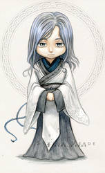 Chibi Commission: Maneleon by SerenaVerdeArt