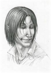 Portrait Commission: Rhistel by SerenaVerdeArt