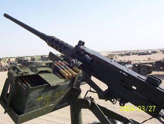.50 caliber machine gun by animedevildog