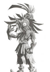 skullkid by EmeraldWeapon