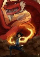 Firebending by Koikii