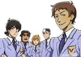 Voltron High School Host Club by Koikii