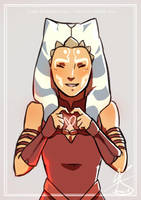 Ahsoka by Koikii