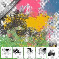 Photoshop Textures Brush Set by graphex