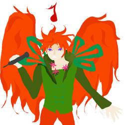 phoenix sings by pinkcotton