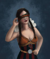 Philippa Eilhart - Witcher 3 by duduOmag