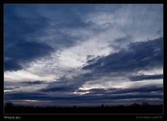 Winter sky by Zair-Ugru-nad