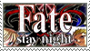 Fate/Stay Night Stamp by whitenoize