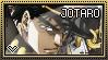 JJBA: Kujo Jotaro Stamp by whitenoize