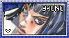 JJBA: Bruno Bucciarati Stamp by whitenoize