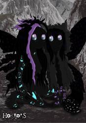 shadow demons by Little-Horrorz