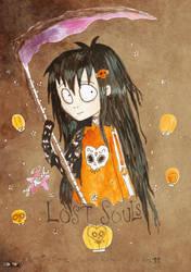Lost souls Burtonised by Little-Horrorz