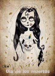 Dia de los muertos by Little-Horrorz