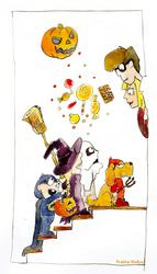 Illustration Friday: Sugary by crabbits
