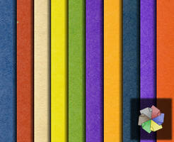 Colored papers. by plaintextures