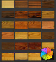 Wood textures by plaintextures